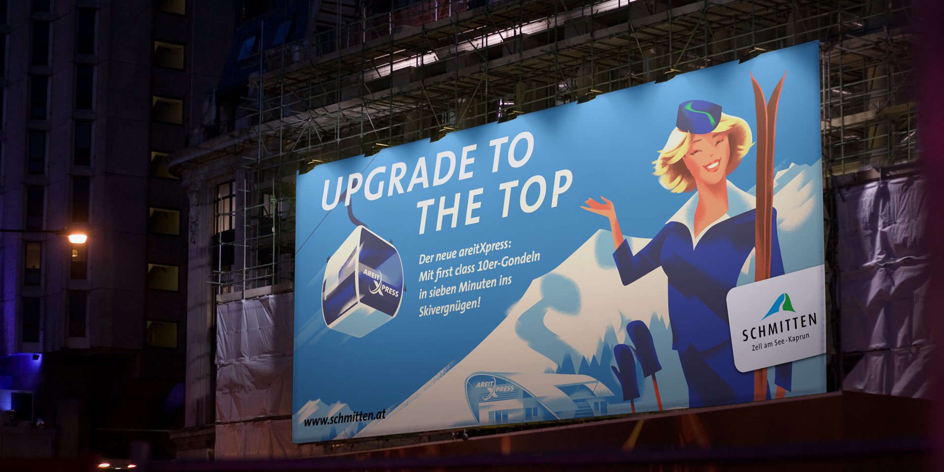 Upgrade to the Top – Plakat